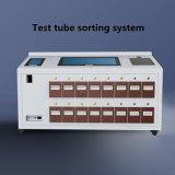 병원 진공 혈액 수집 관 레테르를 붙이는 기계