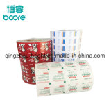 Impreso en papel de aluminio para toallitas de alcohol