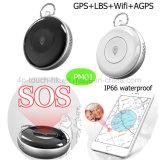 Sos 단추 Pm02를 가진 방수 휴대용 소형 GPS 개인적인 추적자