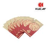 Goldener stempelnder Pocket Umschlag (KCE-0006)
