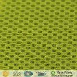 A1618 100% полиэстер района сэндвич искусственный шелк сетчатая поверхность