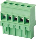 PA66 UL Conector de PCB padrão / Bloco de terminais plugável (WJ2EDGKB-5.08)