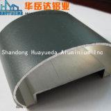 Perfil de alumínio do revestimento do pó para corrimão