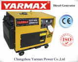Yarmax дешевые одного цилиндра с автоматической установки с воздушным охлаждением дизельный генератор Ym6500t