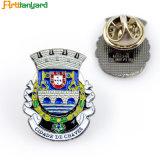 Pin do emblema do metal com esmalte macio