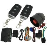 Système d'alarme de voiture avec télécommande Verrouillage de porte et déverrouillage