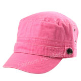 Atacado Militar Army Pigment Dyed Washed Cap for Lady