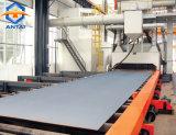 Riga macchina di trattamento preparatorio del piatto d'acciaio di granigliatura del rullo