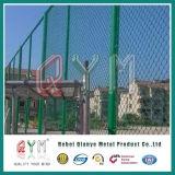 Vinyl beschichteter Kettenlink-Gewebe galvanisierter schwerer Kettenlink-Zaun