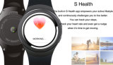 GPSおよび心拍数のモニタ(X5)が付いている3Gスマートな腕時計