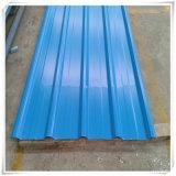 Оцинкованные железные RAL3002 Prepainted Цвет миниатюры крыши класса А PPGI пластину