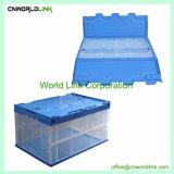 60L de alta calidad OEM PP plástico sólido contenedor plegable el volumen de negocios
