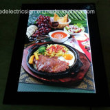 AluminiumFrame Slim LED Light Box mit LED Open Sign für LED Display