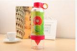 Populäre Glaswasser-Flasche, Saft-Flasche, Zitrone-Flasche