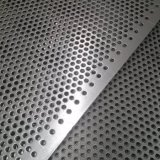da folha perfurada do engranzamento do metal do aço inoxidável de 1mm folha de alumínio perfurada galvanizada furo com vária forma do furo