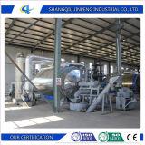 Относящие к окружающей среде неныжные пластмасса и покрышка к заводу пиролиза топлива