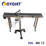 Stampante di getto di inchiostro portatile di Cycjet che funziona con il nastro trasportatore