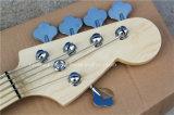 Нот Hanhai/5 шнуров чернит электрическую басовую гитару