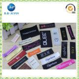 Etiqueta de la ropa de la marca de fábrica de la ropa modificada para requisitos particulares de fábrica, etiqueta tejida (JP-CL105)
