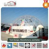 Geodäsieabdeckung-Festzelt-Zelt mit Klarsichtdeckel