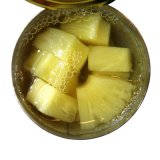 Ingeblikte die Ananas met Uitstekende kwaliteit wordt verpletterd