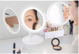 Новый дизайн 7 дюйма три поверхности стола лампа LED зеркало для макияжа