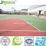Поверхность настила спорта PU силикона для теннисного корта