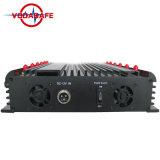 Jammer Control remoto de bloqueo para teléfono móvil+GPS+Lojack+Control Remoto, escritorio nuevas bandas12 Jammer 4G WiFi GPS Lojack Jammer con cargador de coche