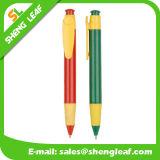 Kundenspezifisches Firmenzeichen, das Klickenballpoint-Plastikfeder (SLF-PP028, bekanntmacht)