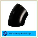 Codo de la instalación de tuberías del acero de carbón 90deg Sch40