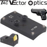 선그림 광학 가득 차있는 금속 통신 Sauer P226 전자총 Accessries를 위한 나사 그리고 격판덮개를 가진 전술상 활주 범위 마운트 기초