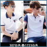 T-shirt de polo de coton de promotion d'OEM
