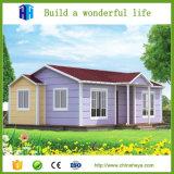 Disegno architettonico della Giamaica della villa moderna verde prefabbricata della Camera