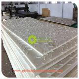 Color blanco/HDPE resistencia química/hojas pisos precios baratos de Europa