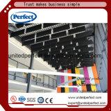 Tuiles acoustiques de plafond de /Fiberglass de cloison de plafond de fibre de verre de matériaux verts de décoration