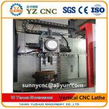 Máquina vertical del torno del CNC con alto Precison que corta el disco grande del metal