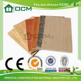 El ahorro cuesta a material de construcción respetuoso del medio ambiente la tarjeta decorativa incombustible del MGO
