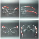 Verres de sûreté enveloppants de lentille de poids léger avec la garniture molle d'extrémité (SG123)