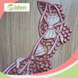 Kant van de Hals van de Kleur van het Kant van de Kraag van de Polyester van het borduurwerk het Roze 3D