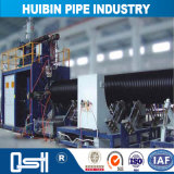 HDPE Rohr-doppel-wandiges gewölbtes Rohr für Gas oder Bergbau