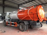 Camion d'aspiration d'eaux d'égout de vide de HOWO 4X2