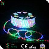 Luz disponible de la cuerda de los alambres LED del redondo 2 de la nueva llegada colorida