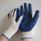 Gants revêtus de latex lisse et lisse Protection contre le travail Gant de travail de sécurité