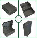 Caja brillante negra del papel del color para la venta al por mayor