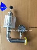Санитарная нержавеющая сталь гайки соединения End-SS304 клапана Spunding