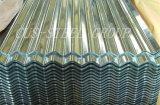 Лист толя волны воды гальванизированный стальной/гофрировал лист крыши металла
