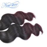 Объемная волна волос девственницы Ombre бразильская 2 пачки дела