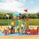 Parque Infantil exterior de plástico deslize para crianças e crianças (JYG-15012)