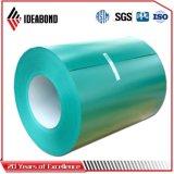 Différentes bobines d'aluminium d'Ideabond d'épaisseur et de largeur