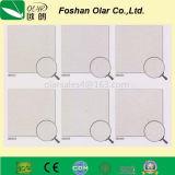 Plaque de silicate de calcium renforcée par fibre optique approuvée par CE pour plafond interne
